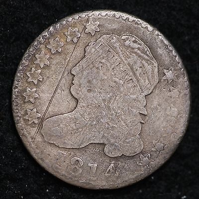 1814 Capped Bust Dime CHOICE FREE SHIPPING E199 UNT