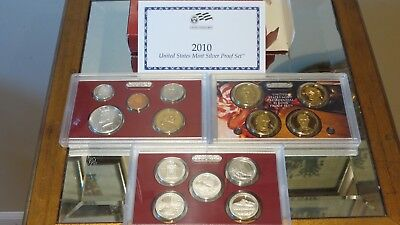 2010 United States Mint Silver Proof Set Complete With Box & COA!!!