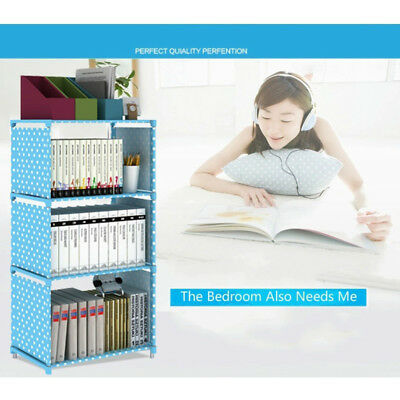 Simple Bookshelf Bookcase Shelf Books Storage Multifunctional Cabinets Decorate