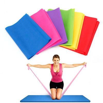 Yoga Exercise Resistance Band Stretch Strap Fitness Belt Strength Training
