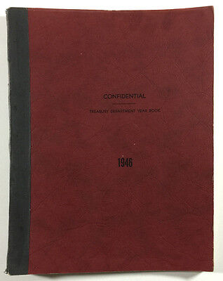 Pennsylvania Railroad Confidential Treasury Department Year Book 1946