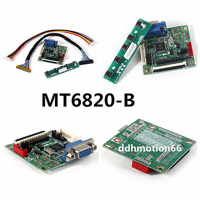 """MT6820-B Universal LVDS LCD Monitor Driver Controller Board 5V 17""""-42"""" Replace 6"""