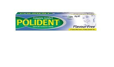 Polident Flavour Free Cream 60G x 12 Boxes - Best Price!!