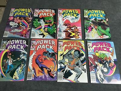 Power Pack comic lot run 1-30 issue