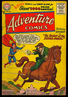 Adventure Comics #230 Nice Early Silver Age Superboy DC Comic 1956 VG-