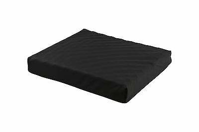 Seat / Wheelchair Cushion - Convoluted PU Foam & Gel Insert, Waterproof Cover-