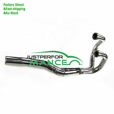 S/S Exhaust Head Header Pipe For Honda XR600 R 91-00 1992 XR650 L 1993-2013 JP