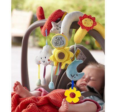 "JJ OVCE ""Say Hello"" Activity Spiral Wrap Toy"
