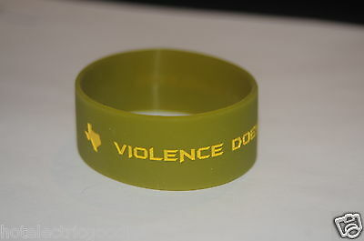 Craft International Wristband Bracelet Violence Does Solve Problems Texas Sniper