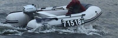 Waveline XS 2.7 Inflatable dinghy  Honda 2.3hp outboard engine