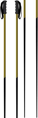 Faction Candide Thovex Pair Of Ski Poles, 125cm Black/Gold