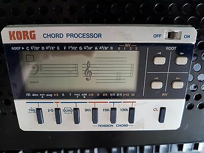 Korg Chord Processor CPS-01 USED BUT FULLY WORKING FREE UK P&P