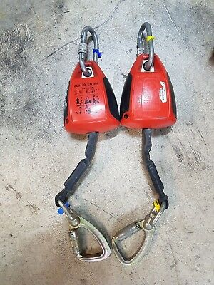 checkmate FAB3W - fall arrest block x 2 and spanset harness. job lot