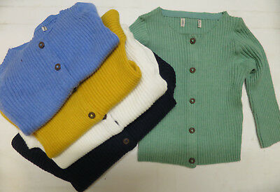 Girls knitwear cardigan NEXT baby 3 6 9 12 18 months 2 3 4 5  years NEW ribbed