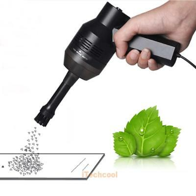 Portable Computer Vacuum Mini USB Keyboard Cleaner Laptop Brush Dust Cleaning