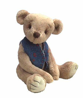 "Bertram Bear 9"" soft toy teddy sewing pattern by pcbangles"