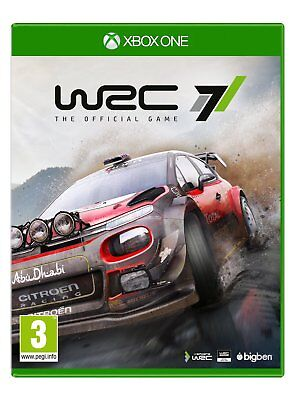 WRC 7 - The Official Game (XBOX ONE) BRAND NEW SEALED RALLY