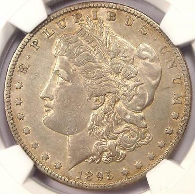 1895-O Morgan Silver Dollar $1 - NGC AU Details - Rare Date Certified Coin