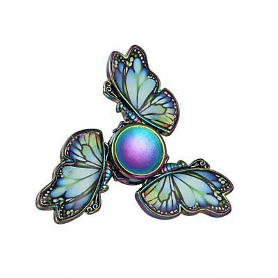 Rainbow Butterfly Fidget Hand Spinner Gyro Finger EDC ADHD Autism Focus Toy Gift