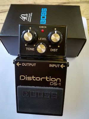 Boss 40th anniversary DS1 Distortion Pedal for Guitar