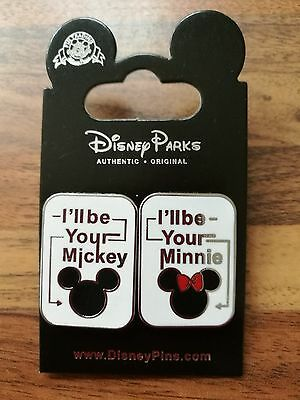 Disney Trading pins ill be your Mickey /ill be your Minnie