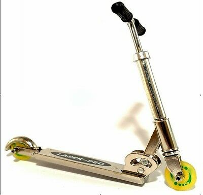 FINGER SCOOTER TOY - Silver