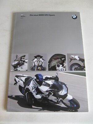 BMW HP2 Sport Official Media Press Release Pack and CD.. Very Rare Memorabilia.