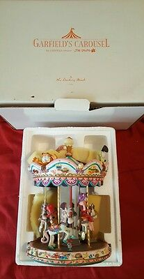 Garfield's Carousel Danbury Mint RARE with original box excellent condition