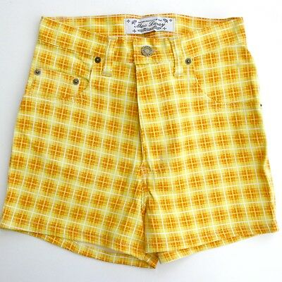 Authentique vintage Short MAC LAURY - Jaune -  Taille 36 - Made in France -