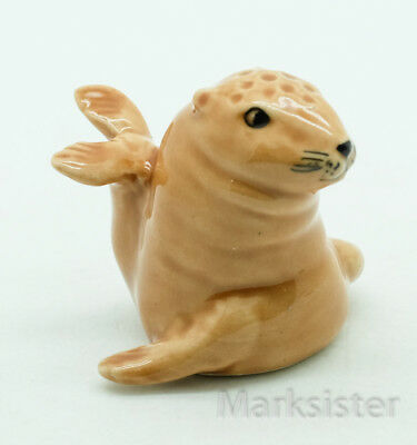 Finger Ceramic Sewing Animal Thimble Otter - THB001