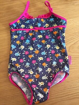 Jojo Maman Bebe 3-4 Girls Swimming Costume