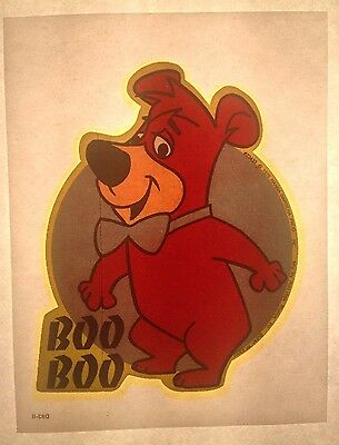 Vintage 1975 Hanna Barbara Boo Boo From Cartoon Yogi Bear **Mini Size** RARE!