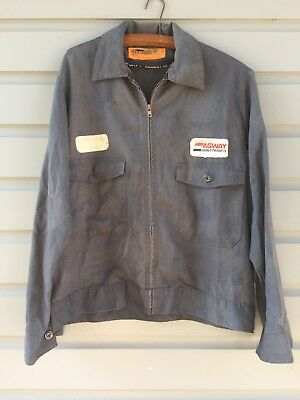 Vintage Gas & Oil Agway Energy Products Advertising Work Jacket Size 42