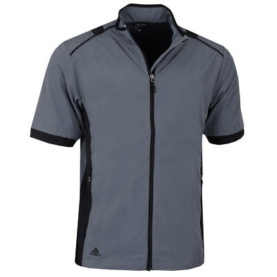 Adidas Golf Mens Climaproof 3 Stripe Stretch Wind Top Jacket - 40% OFF RRP