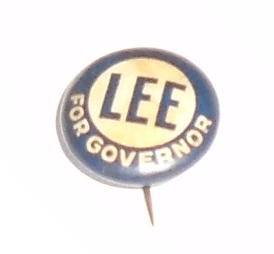 Vintage1914  pin LEE for GOVERNOR pinback CAMPAIGN button MINNESOTA
