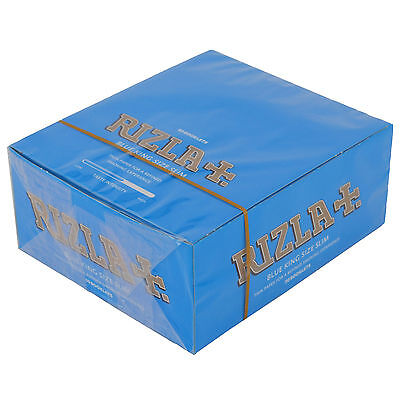 Rizla Blue King Size Slim Genuine Cigarette Smoking Rolling Papers