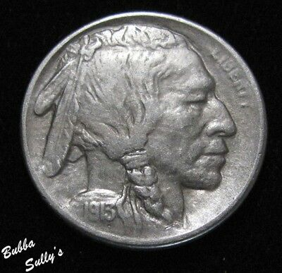 1913 S Type I Buffalo Nickel <> ABOUT UNCIRCULATED ++