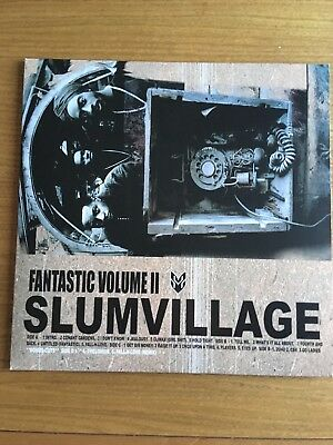 "Slum Village - Fantastic Vol 2 Vinyl - 12"" LP"