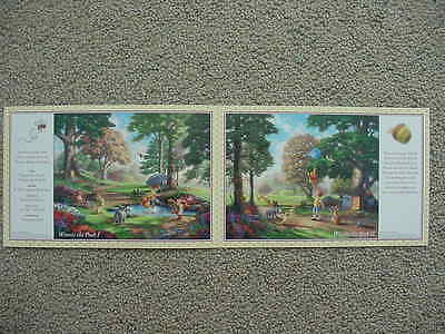 Winnie The Pooh Dealer Booklet, Thomas Kinkade Studios, 8.5 X 5.5, Mint Cond!