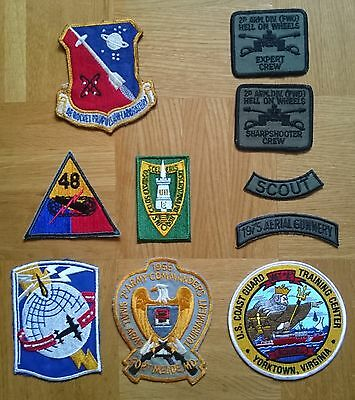 USA diverse Patches