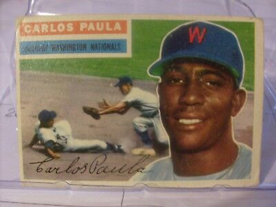1956 Topps Baseball Cards Singles VG to EX   (YOU PICK CARDS)