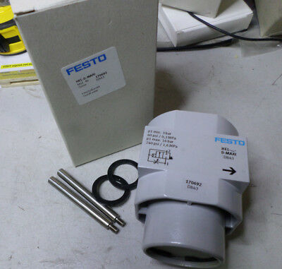 FESTO  SOFT START VALVES for Service Unit - METAL BODIED - 170692 -- HEL-D-MAXI