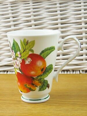 Roy Kirkham Botanica Fine Bone China Mug 1996 Apple Blossom