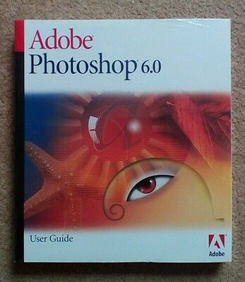 NEW & SEALED Apple Mac Adobe Photoshop 6.0 User Guide
