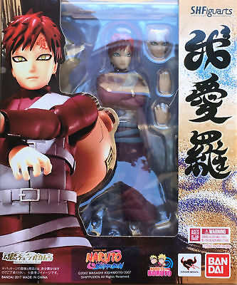 New Bandai Tamashii Web Exclusive S.H Figuarts Gaara USA NEW AUTHENTIC