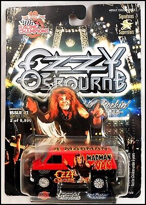 "Ozzy Osbourne ""Diary Of A Madman"" 75 Chevy Die Cast Van Racing Champions"
