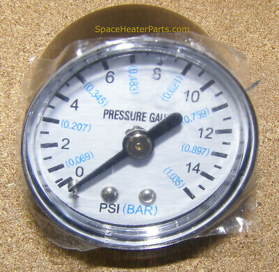 70-025-0100 Air Pressure Gauge  ProTemp Master Remington Dyna Glo Thermoheat