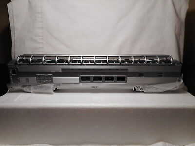O-Scale MTH Sante Fe 70' ABS Full Length Vista Dome Passenger Car - Ribbed