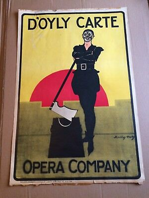 DUDLEY HARDY, The Yeomen Of The Guard Vintage D'Oyly Carte Poster