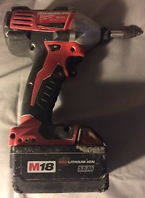Milwaukee Drill B55Bd123005743 with Batteries 2650-20